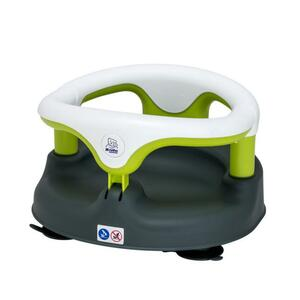 Rotho Babydesign Baby Badesitz grau/weiss/apple green
