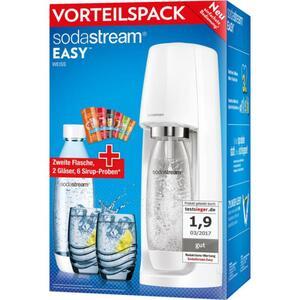 SodaStream Easy Vorteilspack/Promo-Pack weiß