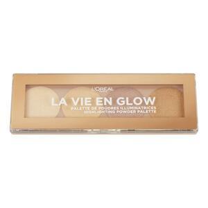 L'Oréal Paris La Vie en Glow Highlighter Palette 01 Warm Glow