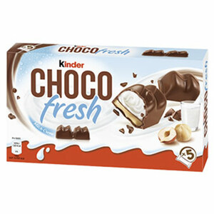 kinder Choco fresh jede 5 x 20,5 = 102,5-g-Packung