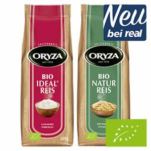 Oryza Bio Reis versch. Sorten, jede 500-g-Packung