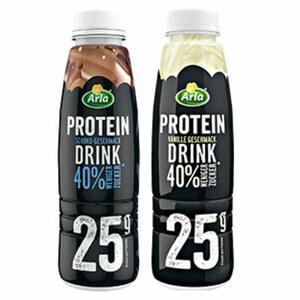 Arla Protein Drink versch. Sorten, jede 500-g-Flasche