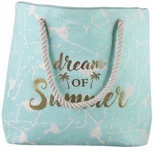 Strandtasche - Dream of Summer - aus Textil - 38 x 14 x 38 cm
