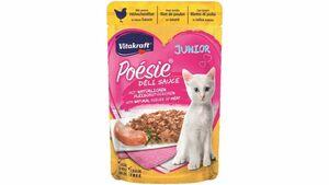 Vitakraft Katzennassfutter Poésie® Déli Sauce + Huhn Junior