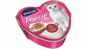 Vitakraft Katzennassfutter Poésie® Déli Sauce + Kalb in Käsesauce