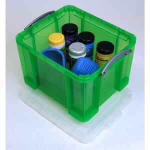 RUP Stapelbare Aufbewahrungsbox Grün 35l