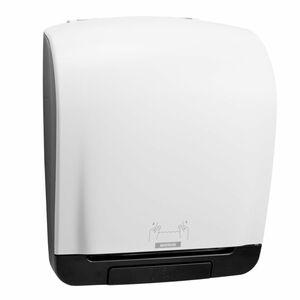 KATRIN Inclusive System, Papierhandtuchspender, Manuell, Kunststoff, Weiß, 403 x 335 x 216 mm