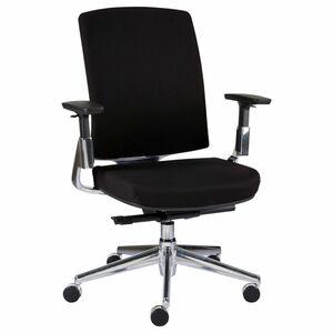 Staples Bürostuhl Forbes, Stoff, 72 x 70 x 111,5 cm, Schwarz