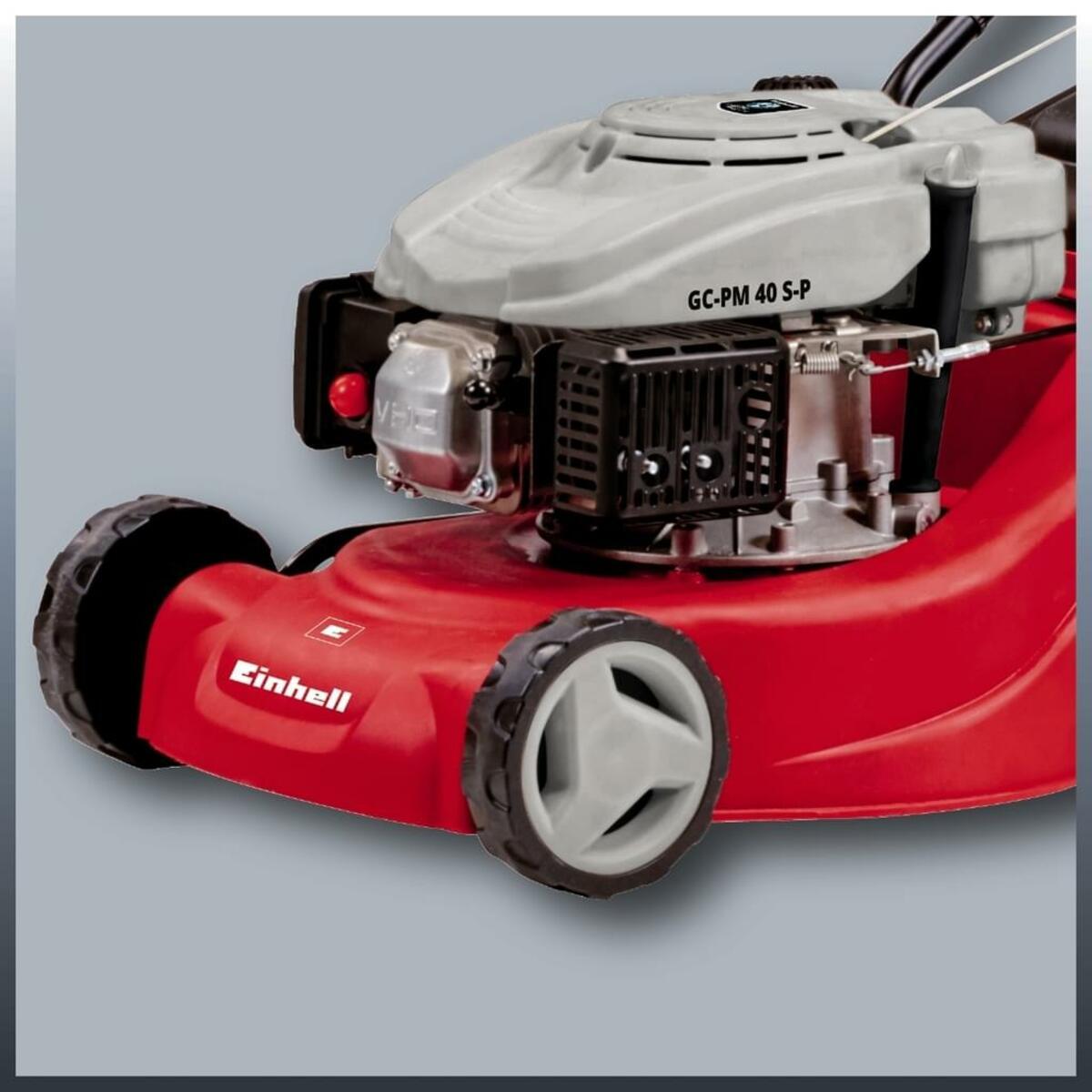 Bild 4 von Einhell Benzin-Rasenmäher GC-PM 40 S-P, Leistung 1,2 kW, Hubraum 99 cm³, Schnittbreite 40 cm, 3404780