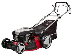 Einhell Benzin-Rasenmäher GC-PM 51/2 S HW, Leistung 2,7 kW, Hubraum 173 cm³, 4-Takt Motor luftgekühlt, Schnittbreite 51 cm, Schnitthöhenverstellung 6-stufig, zentral 30 - 80 mm, Mulchfunktion dur