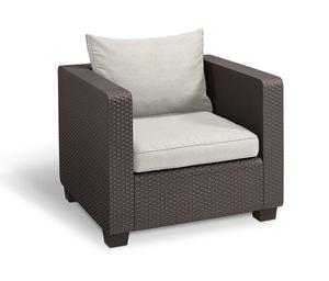 Salta Lounge-Sessel, Braun