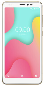 Wiko Smartphone 13,8 cm (5,45 Zoll) Y60, 16GB, DualSIM, Farbe: Gold