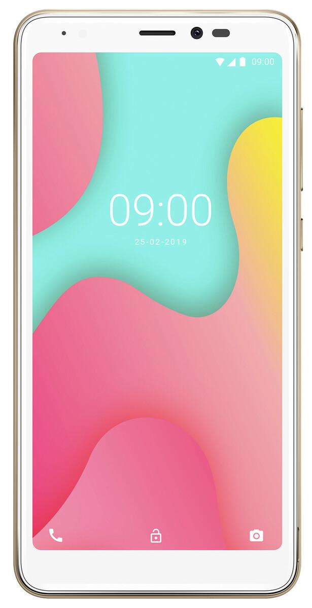 Bild 1 von Wiko Smartphone 13,8 cm (5,45 Zoll) Y60, 16GB, DualSIM, Farbe: Gold
