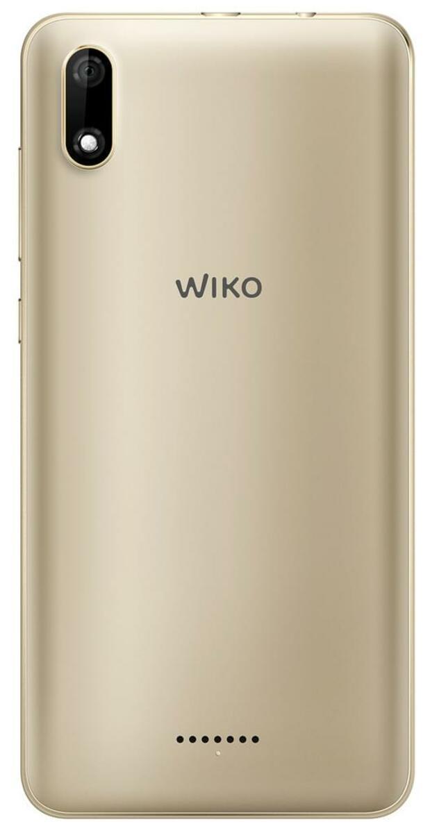 Bild 2 von Wiko Smartphone 13,8 cm (5,45 Zoll) Y60, 16GB, DualSIM, Farbe: Gold