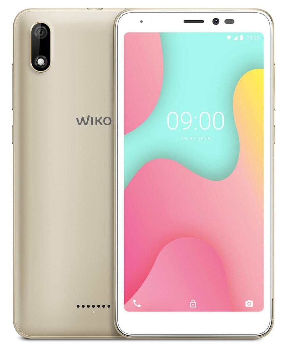Bild 3 von Wiko Smartphone 13,8 cm (5,45 Zoll) Y60, 16GB, DualSIM, Farbe: Gold