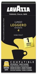 Lavazza Lungo Leggero | 10+1 Nespresso® komp. Kapseln