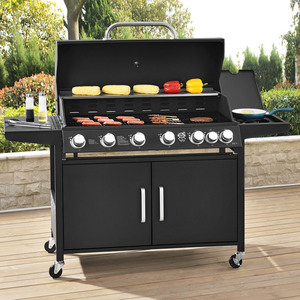 Broilcue BBQ Gasgrill Gas Grill California 6 Brenner + 1 Seitenbrenner