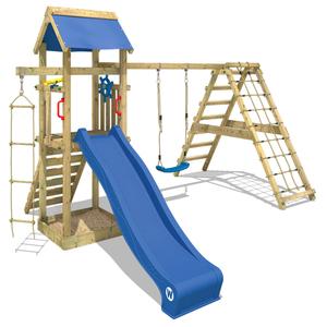 Spielturm WICKEY Smart Park Garten Kinder Kletterturm Stelzenhaus Outdoor Garten Klettergerüst