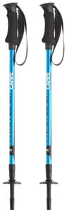CAMPZ Komperdell Twistlock Hiking Poles blau