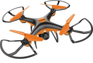 Denver Electronics DCH-240, 4 Rotoren, 30m, MicroSD (TransFlash), 300mAh, Farbe: Schwarz/Orange