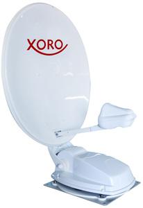 XORO Vollautomatische Satelliten-Antenne 80cm MTA80, Farbe: Weiß