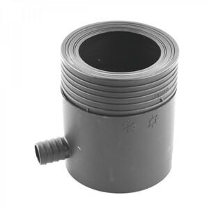 Regensammler DN80-105mm grau Kunststoff Fallrohrfilter Regenwassersammler