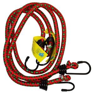 Spanngummiset 2tlg. 80cm max.7kg Gepäckspanner Gummispanner Gepäckstrippen