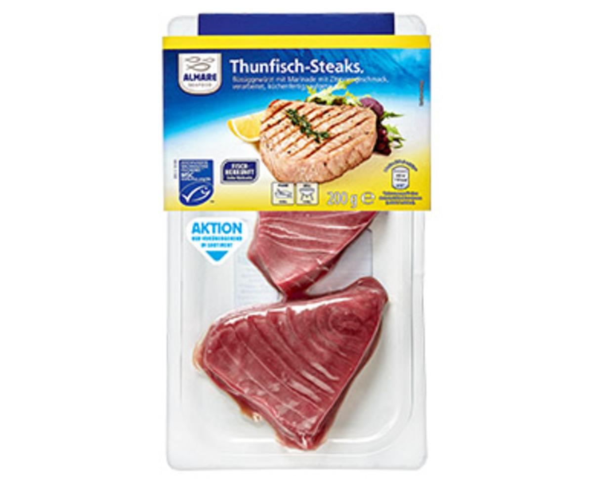 Bild 1 von ALMARE Thunfisch-Steaks