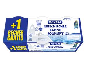 MEVGAL Griechischer Sahne Joghurt