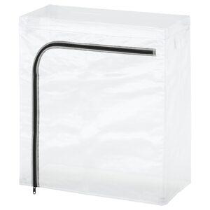 HYLLIS                                Bezug, transparent, drinnen/draußen, 60x27x74 cm