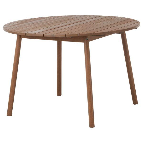 ÖVERALLT                                Tisch, für draußen hellbraun