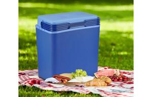 Elektrische Kühlbox blau