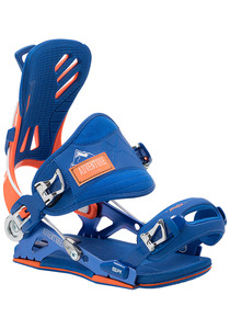 SP Mountain Snowboard Bindung - Blau