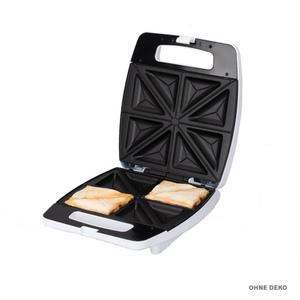 Tectro 4er Sandwichmaker SM 182 XXL in weiß