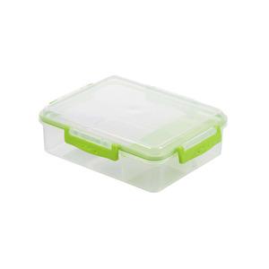 Lunchbox mit 3 Fächern in grün