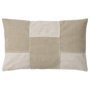 FESTHOLMEN                                Kissenbezug, drinnen/draußen, hellbeige beige, 40x65 cm