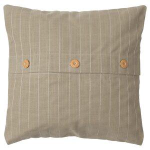 FESTHOLMEN                                Kissenbezug, drinnen/draußen, beige, 50x50 cm