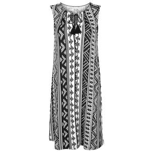 Damen Kleid mit Quasten
