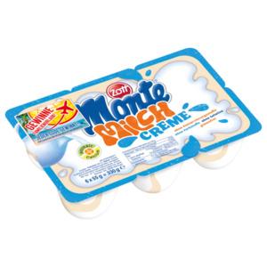 Zott Monte Milch Creme 6x55g, 330g
