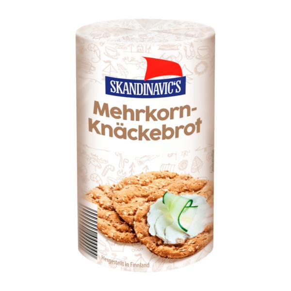 SKANDINAVIC'S     Mehrkorn-Knäckebrot