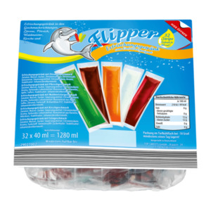 Flipper Erfrischungsgetränk zum Einfrieren
