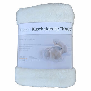 Wohndecke - ecru - 150x200 cm - 2688027301
