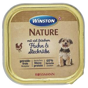 Winston Nature Huhn & Steckrübe 0.33 EUR/100 g