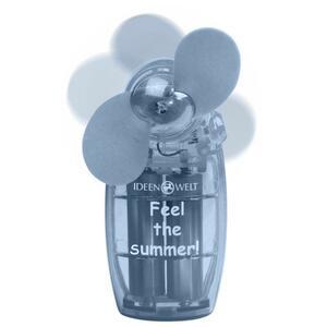 IDEENWELT Mini-Ventilator blau