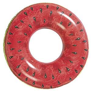 IDEENWELT Schwimmring Wassermelone