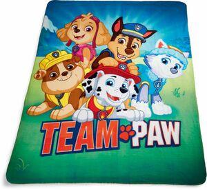 Kinder Fleecedecke - Team Paw