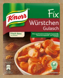Knorr Fix für Würstchen Gulasch 32 g