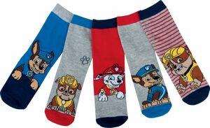 Kinder Socken, 5er Pack - Paw Patrol Boys, Gr. 27/30