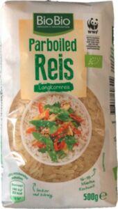 BioBio Parboiled Reis 500g