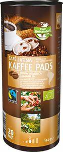 Bio Fairtrade Cafe Latina Kaffeepads 144 g